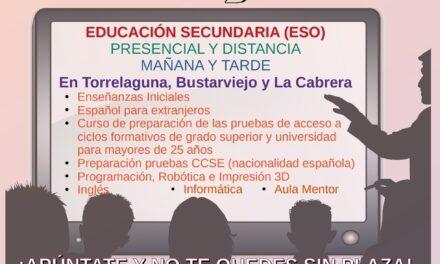 Abierto el plazo de matriculación de la Escuela de Adultos para el próximo curso