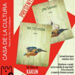 Presentación del libro de 'Kakun' en la Casa de la Cultura