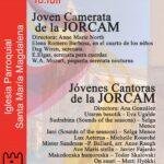 La Jorcam, Joven Orquesta y Coro de Madrid, en la Iglesia Parroquial Santa María Magdalena