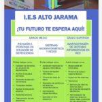 Nueva oferta formativa de IES Alto Jarama