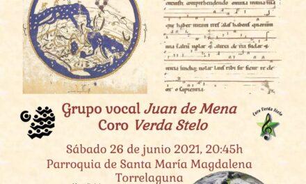 Concierto Coral del grupo vocal Juan de Mena