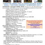 Nuevos cursos de IMIDRA para el ámbito rural y sectores agrario y alimentario