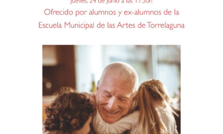 """""""Momento musical"""" en la residencia de mayores de Torrelaguna"""