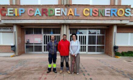 El CEIP Cardenal Cisneros ha despertado con una nueva imagen