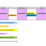 Actividades deportivas previstas para el verano en el Polideportivo Municipal Antonio Martín