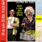 Teatro Familiar – Miércoles, 28 de julio, en la Plaza