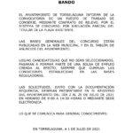 Convocatoria de un puesto de trabajo de Conserje en el Ayuntamiento de Torrelaguna