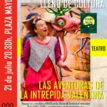 """Teatro familiar en la Plaza Mayor: """"Las aventuras de la intrépida Valentina"""""""
