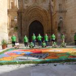 Torrelaguna participa en la elaboración de la Alfombra Mundial Xacobeo 21-22