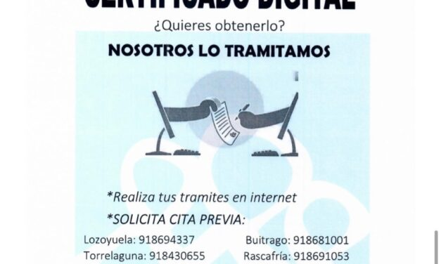 Consigue tu certificado digital