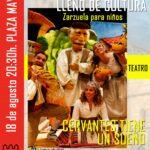 """""""Cervantes tiene un sueño"""", Zarzuela y teatro en Torrelaguna"""