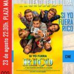 """Lunes de cine en Torrelaguna – """"Si yo fuera rico"""""""