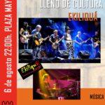 EKILIQUÁ en concierto – viernes, 6 de agosto