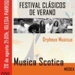 """Concierto del """"Orpheus Musicus"""" en Torrelaguna – Viernes, 20 de agosto"""