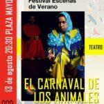 """""""El Carnaval de los animales"""", espectáculo de danza en Torrelaguna"""