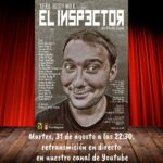 """""""El Inspector"""" de Xexil Body Milk, en streaming – martes, 31 de agosto"""