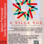 A Villa Voz en la Iglesia Santa María Magdalena de Torrelaguna