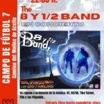 The 8 y ½ Band en concierto en Torrelaguna