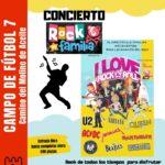 ROCK en familia en concierto – Lunes, 6 de septiembre