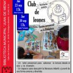 Vuelve el Club de Leones a la Biblioteca Juan de Mena