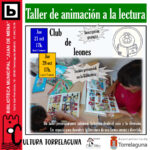 Próximos encuentros del Club de Leones de la Biblioteca Juan de Mena