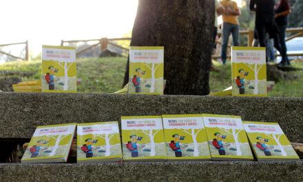 """En el magnífico entorno que ofrece el Área Recreativa de Valgallego, el pasado viernes se presentó el libro """"Rutas con Niños en Guadarrama y Gredos"""" de la Editorial XPLORA"""