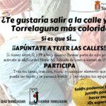 ¿Te gustaría participar en una creación colectiva para embellecer las calles de Torrelaguna?